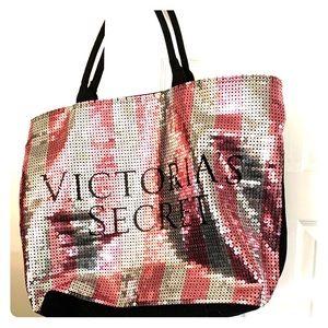 Victoria Secret sequined bag